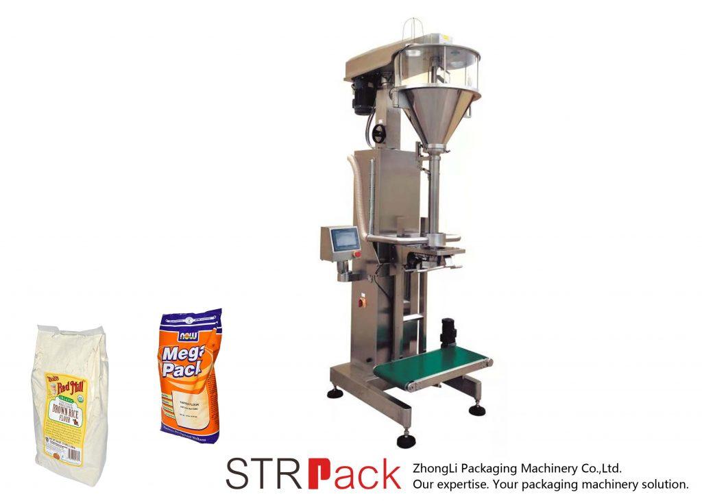 Maszyna do napełniania proszku Auger z wagą online