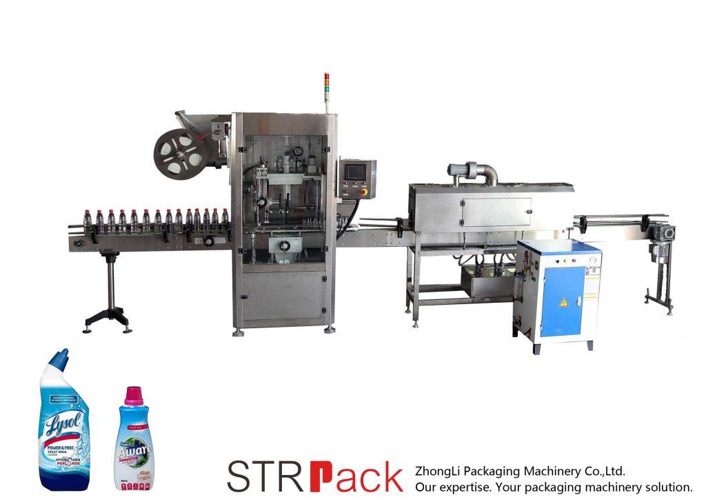Automatyczna maszyna do etykietowania termokurczliwego