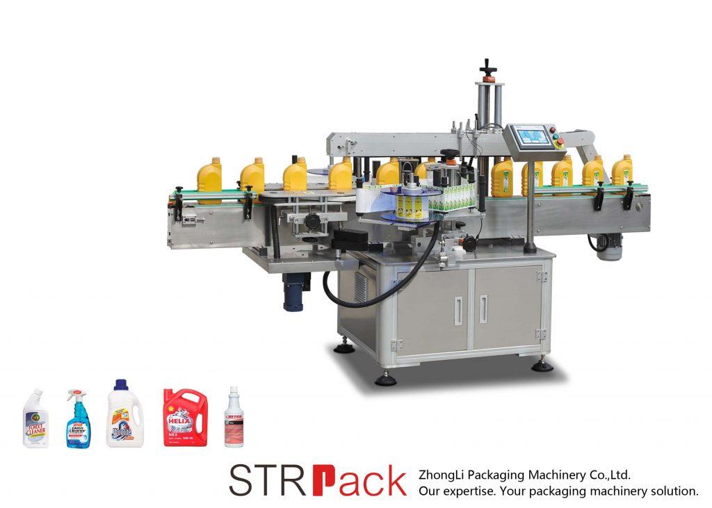 Automatyczna samoprzylepna maszyna do etykietowania pojedynczych / podwójnych stron
