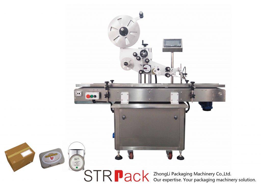 Automatyczna samoprzylepna maszyna do etykietowania w płaszczyźnie pionowej