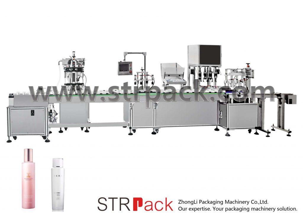 Automatyczna maszyna do napełniania i zamykania emulsji wodnej