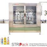 Automatyczna maszyna do napełniania płynów typu tłokowego