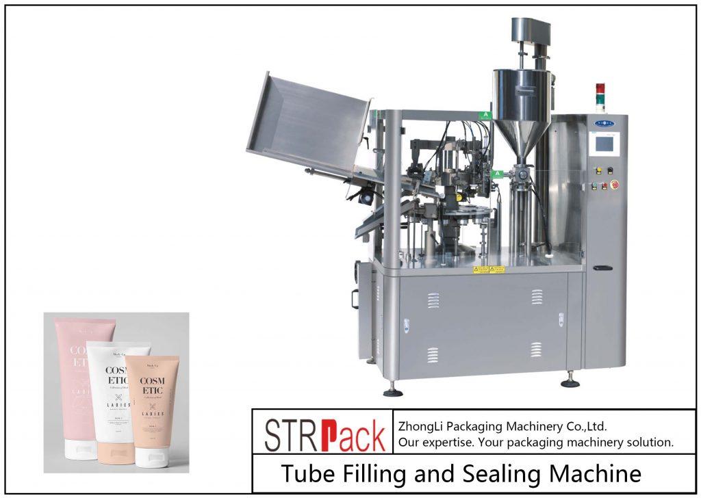 SFS-100 Plastikowa maszyna do napełniania i zamykania rurek