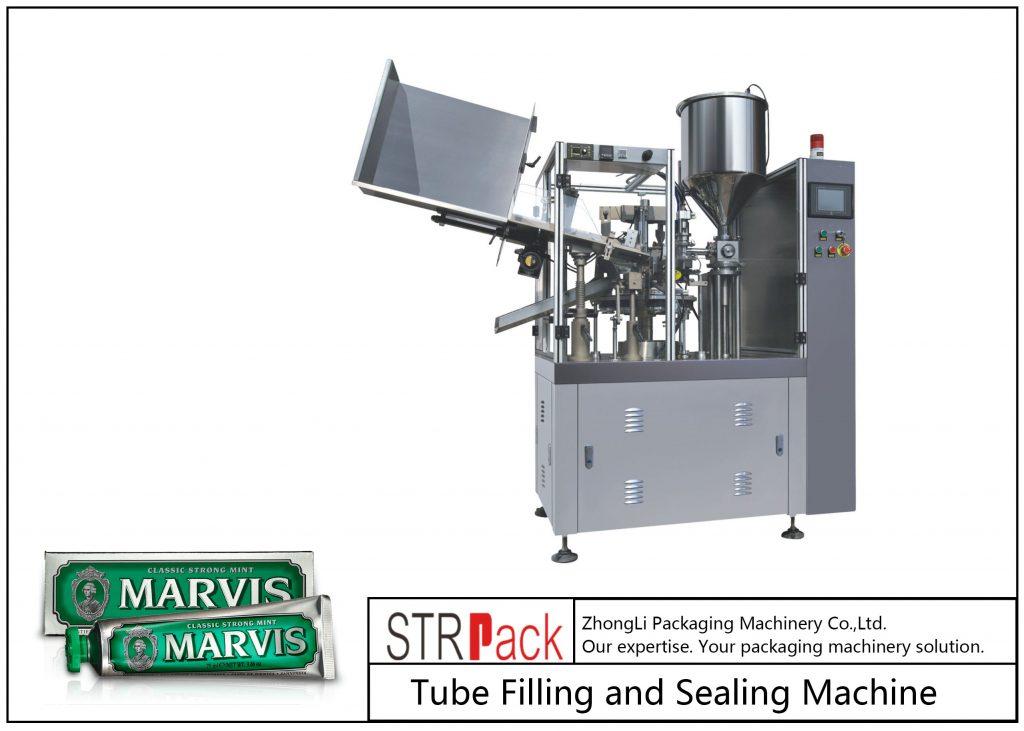 SFS-60 Plastikowa maszyna do napełniania i zamykania rurek
