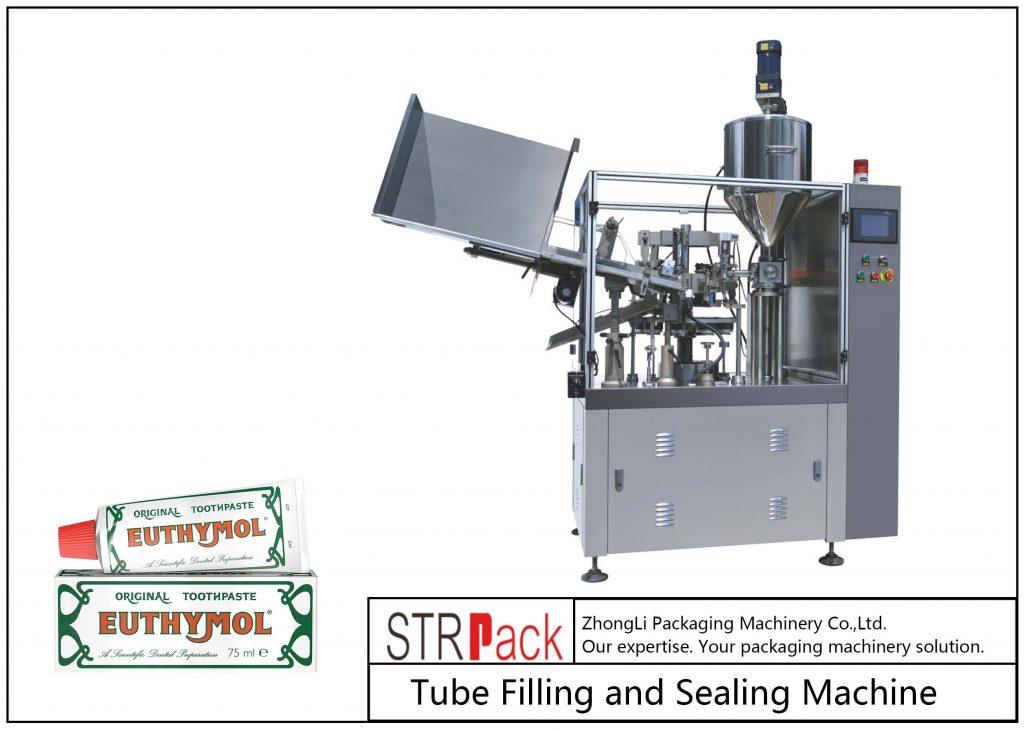 SFS-60Z Metalowa maszyna do napełniania i zamykania rurek