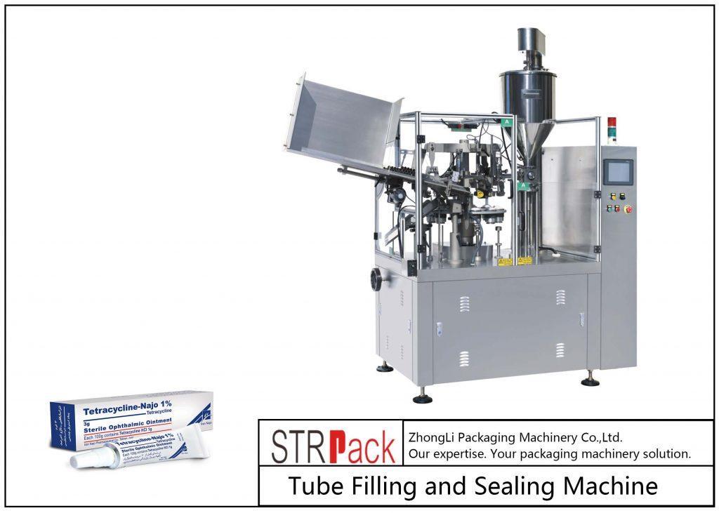 SFS-80Z Metalowa maszyna do napełniania i zamykania rurek