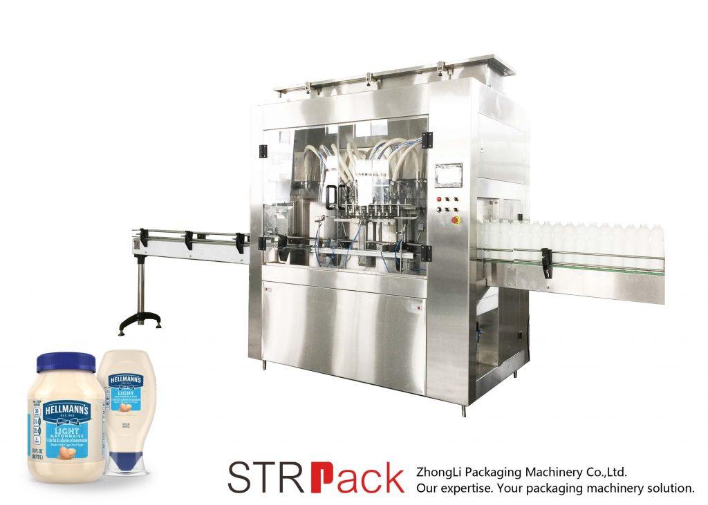 Maszyna do napełniania pomp wirnika STRRP