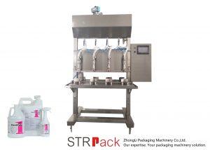 Półautomatyczna maszyna do napełniania cieczą w czasie