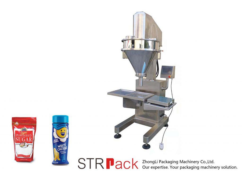 Półautomatyczna maszyna do napełniania proszków ślimakowych